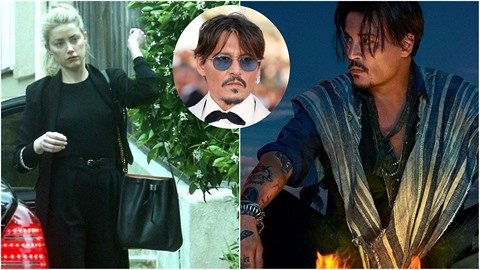 Z Johnnyho Deppa je opět takový švihák, jak jsme na něj zvyklí. To o Amber...