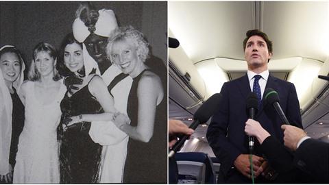 Kanadský premiér Justin Trudeau se omluvil za 18 let starou fotografii z...