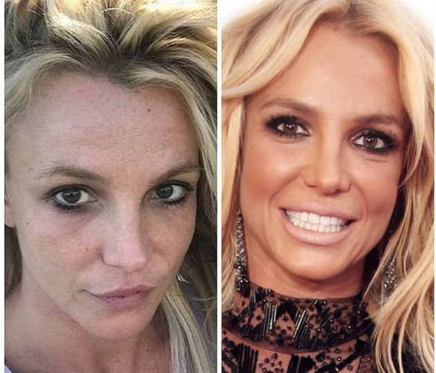 Britney Spears_no make-up