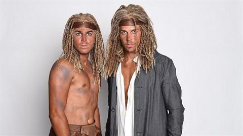 David Gránský a Peter Pecha jako Tarzani.