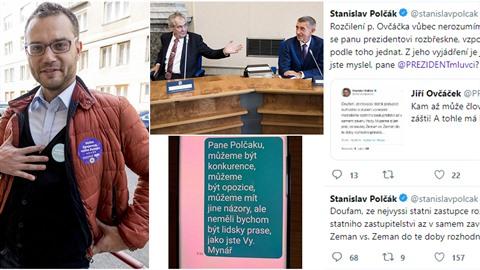 Europoslanec Stanislav Polčák (STAN) ve svém vyjádření na adresu prezidenta...
