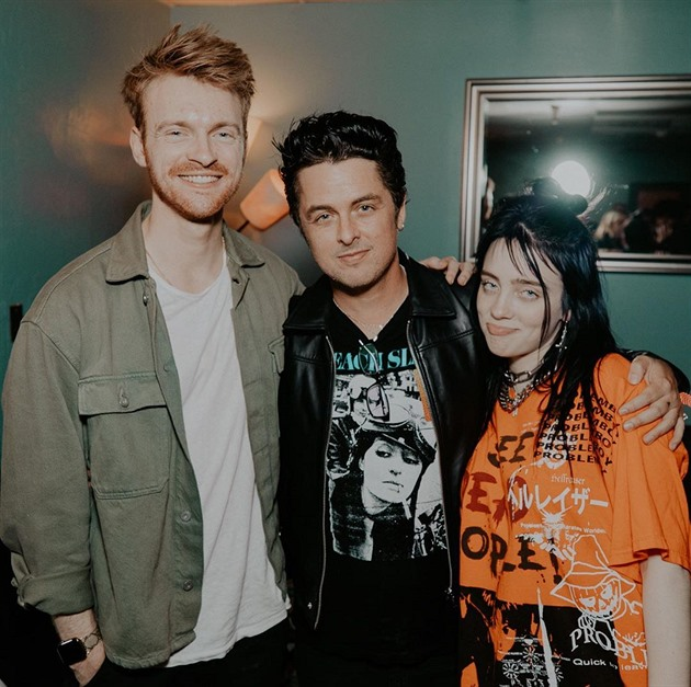 Finneas O'Connell, Billie Joe Armstrong a Billie Eilish