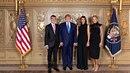 Během recepce v OSN se Andrej Babiš potkal také s americkým prezidentem...