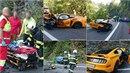 Během nelegálního závodu Fordů Mustang u Vrchlabí zemřel řidič Škody Rapid.