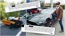 Vojtěch Ch., údajný viník nehody u Špindlerova Mlýna, to na Facebooku schytává...