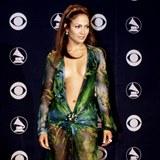 Jennifer Lopez před téměř dvaceti lety.