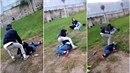 Bitka mezi dětmi v Sedlčanech.