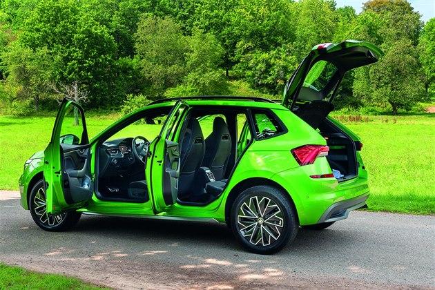 ŠKODA KAMIQ ST Y L E – motor: 1.6 TDI – výkon: 85 kW (115 koní) – převodovka: šestistupňový manuál – zrychlení 0–100: 10.4 s – nejvyšší rychlost: 192 km/h – cena: 502 900 Kč