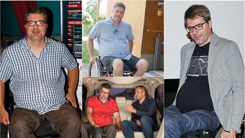 Michal Jančařík promluvil o životě na vozíku.
