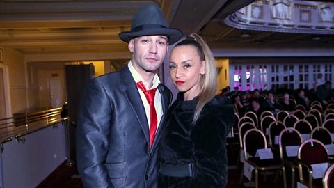 Sámer Issa s přítelkyní Pavlínou Kohoutovou na galavečeru La Sophia v hotelu...