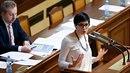 Markéta Pekarová Adamová se hlasování o rozpočtu nezúčastnila.