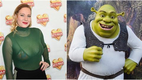 """Shrek je šťastný! Jedna Fiona se mu """"vyloupla"""" i v českých luzích a hájích...."""