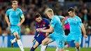 Barcelona v Praze zvítězila, ale na Camp Nou už Sešívaní brali bod za remízu.