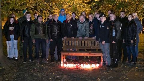 Jaroslav Foldyna uctil památku válečných veteránů hodně nezvykle.