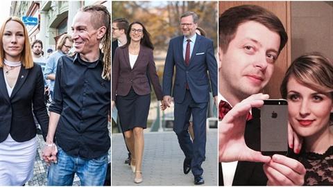Která s manželek předsedu parlamentních stran se vám líbí nejvíce?