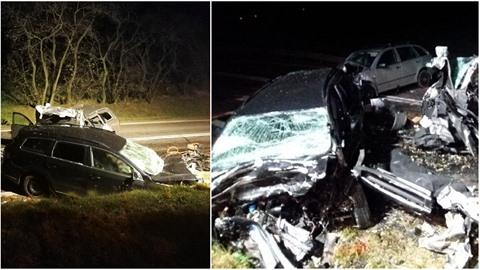 Nehoda na Znojemsku měla tragické následky. Zemřeli při ní 4 lidé.