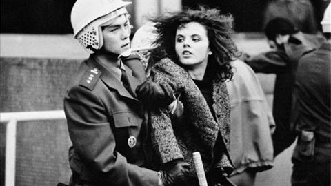 Martina Richtersová na ikonickém snímku.