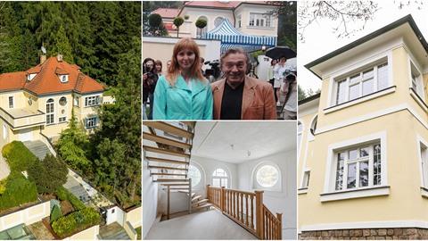 Venkovské sídlo v Jevanech Karel Gott pořídil v roce 1969 pro své rodiče....
