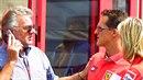 Willi Weber je Schumacherův bývalý manažer.