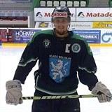 Michal Martínek ještě jako hokejista Mladé Boleslavi.