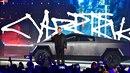 Elon Musk při prezentaci nového pick-upu od Tesly.