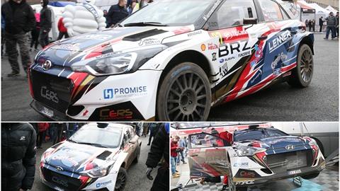 Hyundai se zúčastnilo rallye závodů na Strahově.