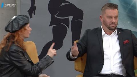 Bára Štěpánová byla hostem fotbalové talkshow a větší pocit trapnosti dnes asi...