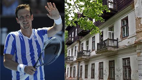 Pomůže Tomáš Berdych zachránit kdysi výstavní lázně?