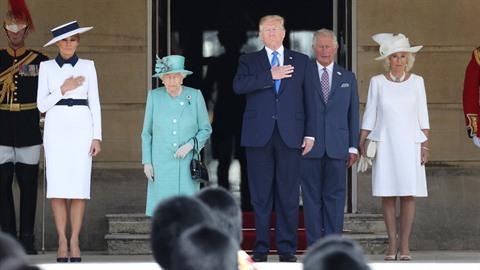 Donald Trump nemá dobré vztahy s královskou mediální kanceláří. Charlie...