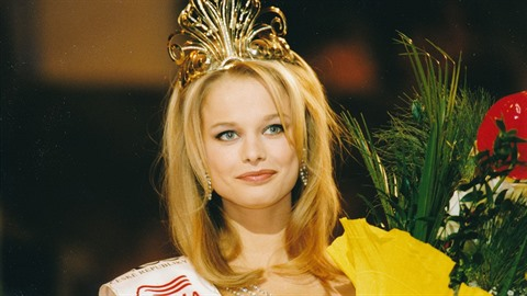 Helena Houdová jako vítězka soutěže.
