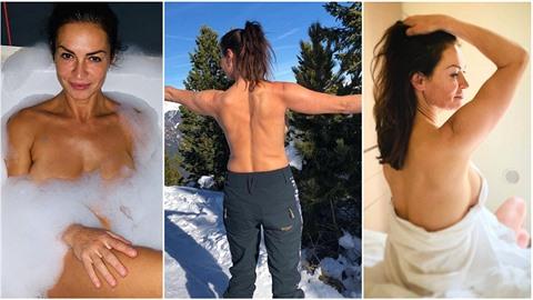 Instagram Hanky Kynychové je pěkně žhavý.