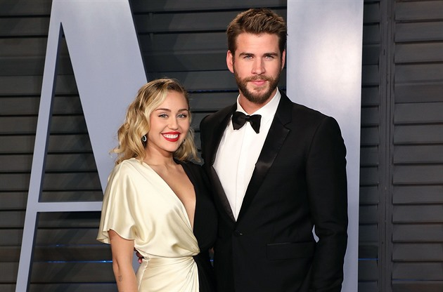 Miley Cyru a Liam Hemsworth