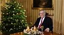 Miloš Zeman přednesl tradiční vánoční poselství.