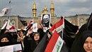 Lidé v Íránu protestují proti USA. Americká armáda zabila íránského vůdce...