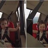 Dítě si pěkně užívalo prví let.