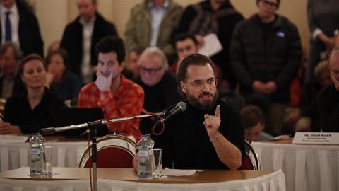 Radovan Síbrt svým vystoupením na zastupitelstvu zaujal.