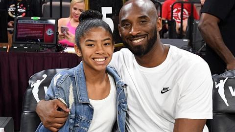 Kobe Bryant a jeho dcera Gianna