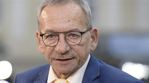 Zemřel předseda Senátu Jaroslav Kubera (na snímku ze 14. ledna 2020). Byl...