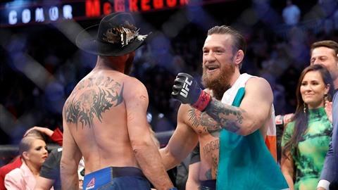 McGregor nabral svalovou hmotu a podle svých slov je připraven utkat se s...