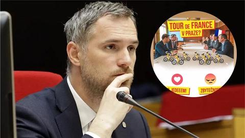 Zatímco Zdeněk Hřib řešil problémy na zastupitelstvu, měl jednat o Tour de...