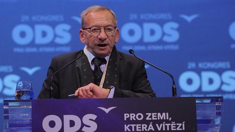 Jaroslav Kubera byl ještě v sobotu na kongresu ODS.