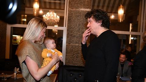 Andrea Hlaváčková vzala na otevření restaurace dceru Isabellu. Zaujal ji...