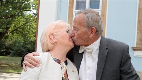 Jaroslav Kubera (†72) s manželkou Věrou loni oslavil zlatou svatbu.