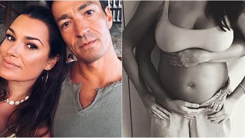 Alena Šeredová s přítelem Alessandrem Nasim oznámili přírůstek do rodiny....
