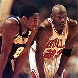 Kobe Bryant (Lakers) a Michael Jordan (Chicago Bulls).