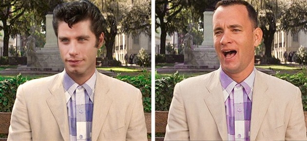 John Travolta versus Tom Hanks
