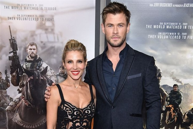 Chris Hemsworth a Elsa Pataky