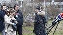 Na tiskovou konferenci Dominiky Gottové přišel i její manžel Timo.