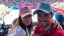 Mareš s Monikou zavítali na Australian open.