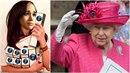 Královna to těm dvěma natřela, shodují se lidé. Z Meghan a Harryho mají legraci.